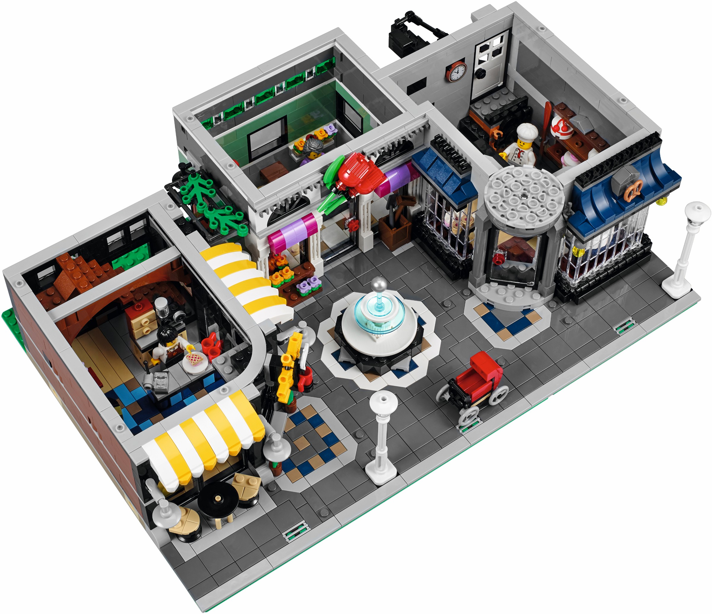 Lego 174 10255 Assembly Square Offiziell Vorgestellt Lego