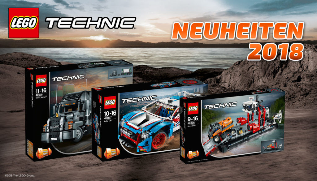 lego technic neuheiten 2018 im berblick lego blog von. Black Bedroom Furniture Sets. Home Design Ideas