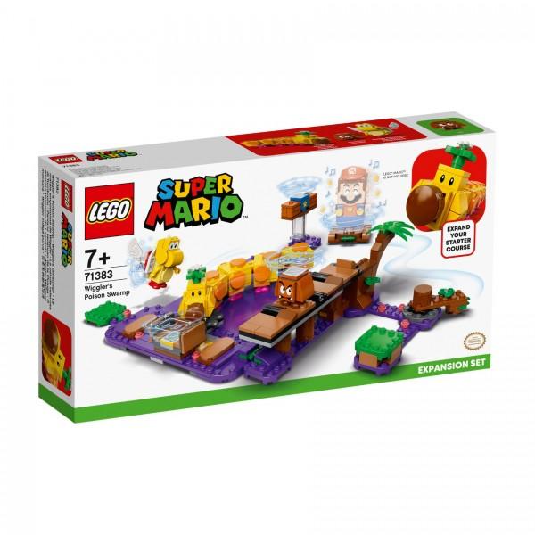LEGO® Super Mario™ 71383 Wigglers Giftsumpf - Erweiterungsset