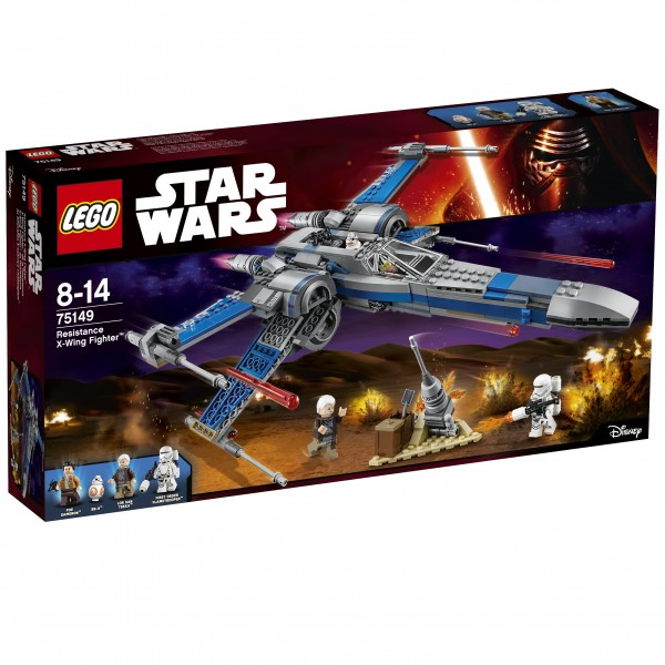 LEGO® Starwars 75149 Resistance X-Wing Fighter