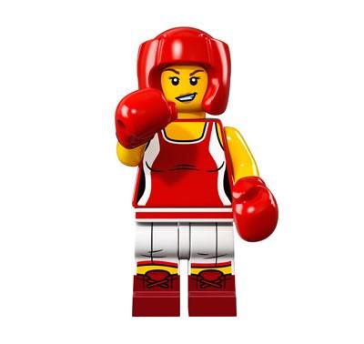 LEGO® Minifiguren Serie 16 - Kickboxerin 71013-08