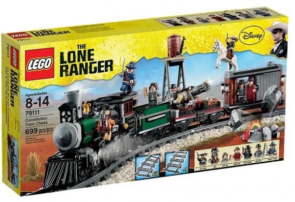 LEGO® Lone Ranger 79111 Eisenbahnjagd