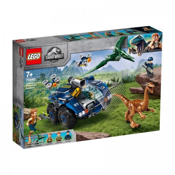 LEGO® Jurassic World 75940 Ausbruch von Gallimimus und Pteranodon