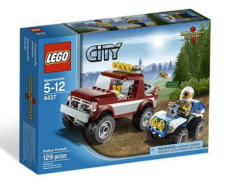 LEGO® CITY 4437 Verfolgung im Gelände
