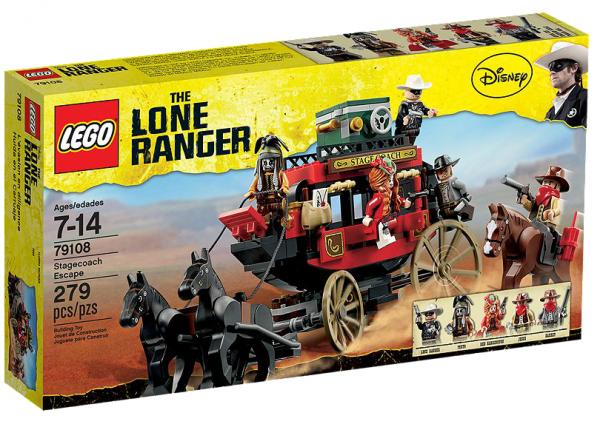 LEGO® Lone Ranger 79108 Flucht mit der Postkutsche