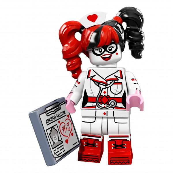 The LEGO® Batman Movie Minifigur - Nurse Harley Quinn 71017-13