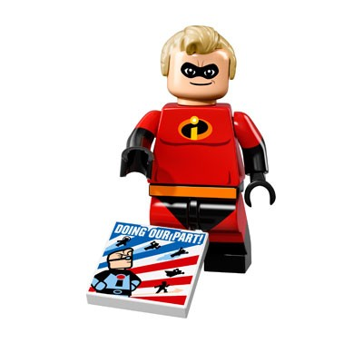 LEGO® Disney Minifiguren Serie 1 - Mr. Incredible 71012-13