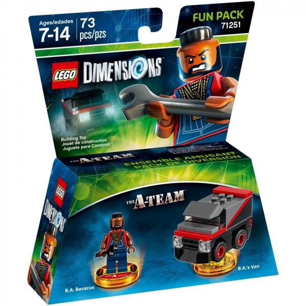 LEGO® Dimensions 71251 Fun Pack A-Team: B.A. Baracus