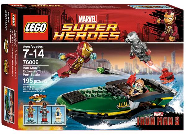 LEGO® Marvel Super Heroes 76006 Iron Man: Extremis-Speedboot-Einsatz