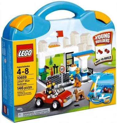Blauer LEGO® Koffer 10659