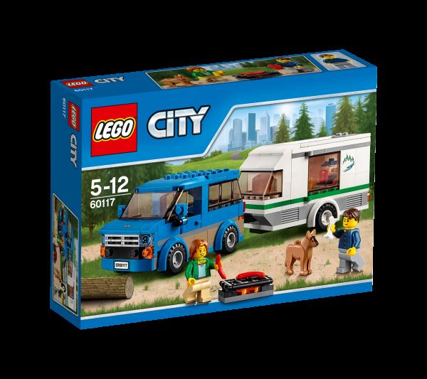 LEGO® CITY 60117 Van & Wohnwagen