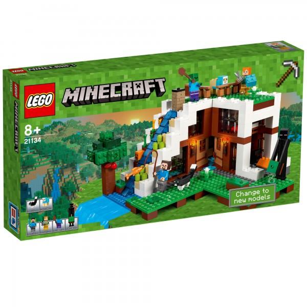 LEGO® Minecraft 21134 Unterschlupf im Wasserfall