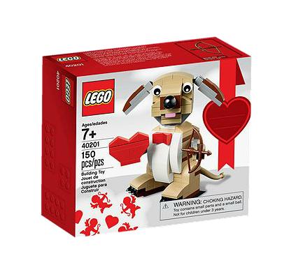 LEGO® 40201 Valentinstag-Hund