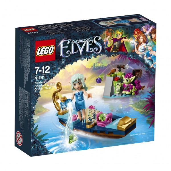 LEGO® Elves 41181 Naidas Gondel und der diebische Kobold