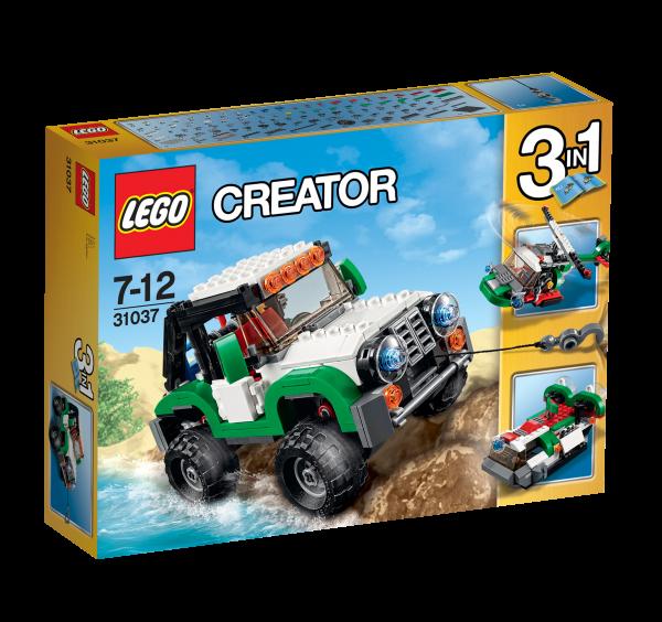 LEGO® Creator 31037 Abenteuerfahrzeuge