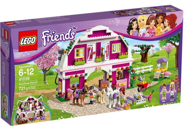 LEGO® Friends 41039 Großer Bauernhof