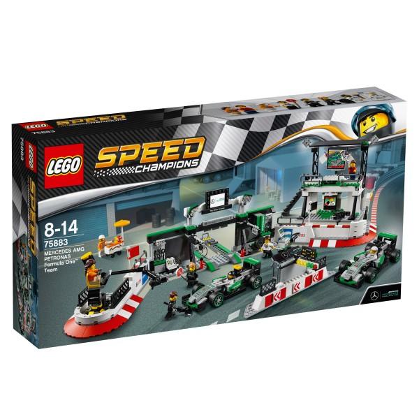 LEGO® Speed Champions 75883 MERCEDES AMG PETRONAS Formula One Team