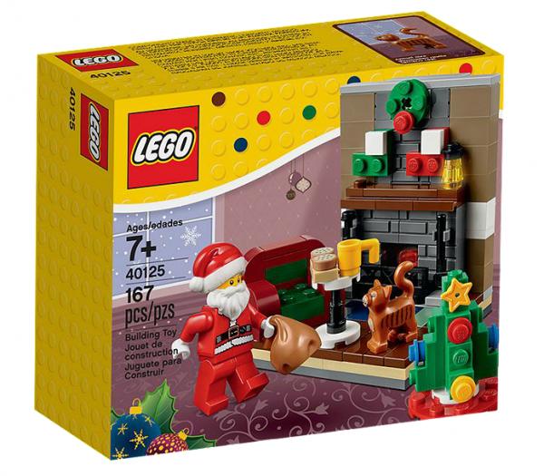 LEGO® 40125 Besuch des Weihnachtsmanns