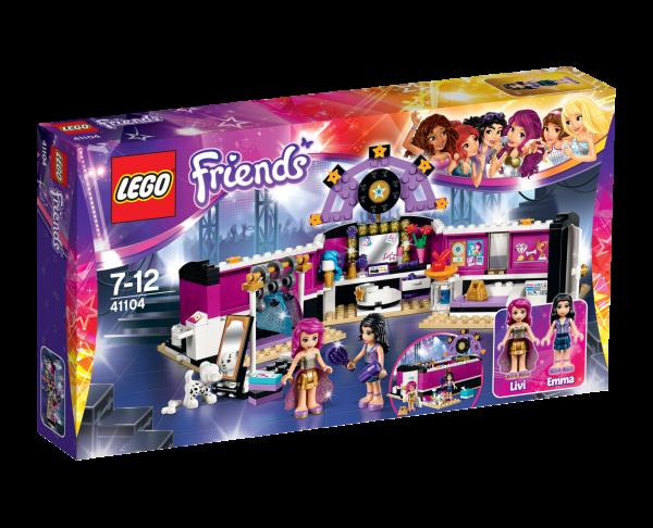 LEGO® Friends 41104 Popstar Garderobe
