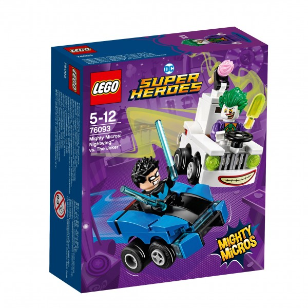 LEGO® DC Universe Super Heroes 76093 Mighty Micros: Nightwing vs. The Joker