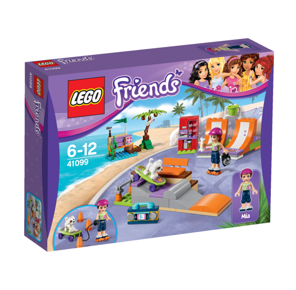 LEGO® Friends 41099 Heartlake Skatepark