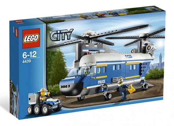 LEGO® CITY 4439 Hubschrauber mit Doppelrotor
