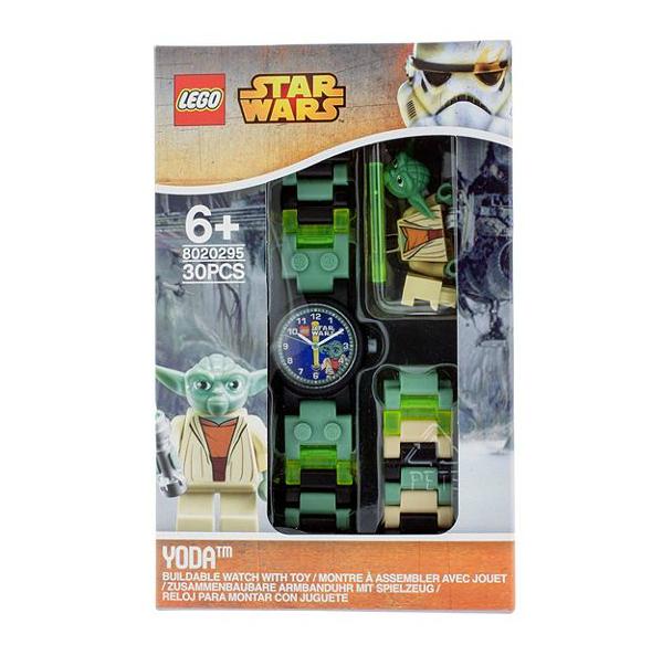 LEGO® Starwars 5005017 Yoda Minifiguren-Uhr