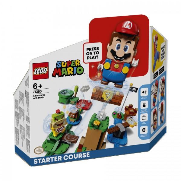 LEGO® Super Mario™ 71360 Abenteuer mit Mario™ Starterset