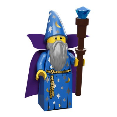 LEGO® Minifiguren Serie 12 - Wizard 71007-11