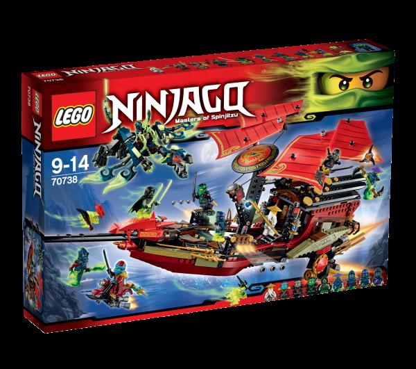 LEGO® Ninjago 70738 Der letzte Flug des Ninja-Flugseglers
