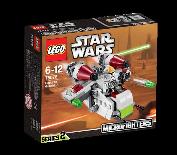 LEGO® Star Wars 75076 Republic Gunship
