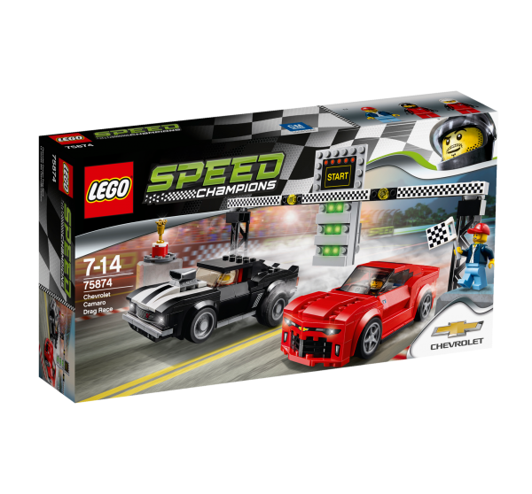 LEGO® Speed Champions 75874 Chevrolet Camaro Drag Race