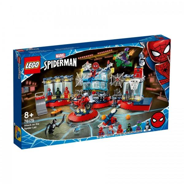 LEGO® Marvel Super Heroes™ 76175 Angriff auf Spider-Mans Versteck