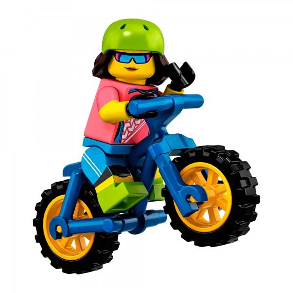 LEGO® Minifigur Serie 19 71025-16: Mountainbikerin