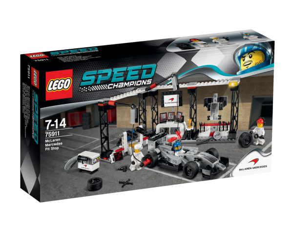 LEGO® Speed Champions 75911 McLaren Mercedes Boxenstopp