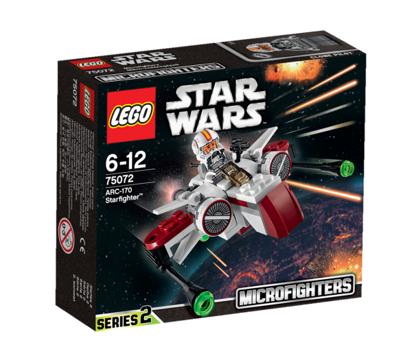 LEGO® Star Wars 75072 ARC-170 Starfighter