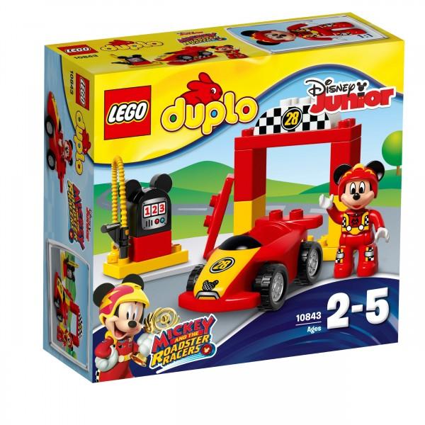 LEGO® DUPLO® 10843 Mickys Rennwagen