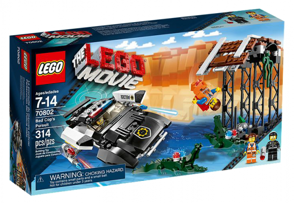 LEGO® Movie 70802 Bad Cops Verfolgungsjagd