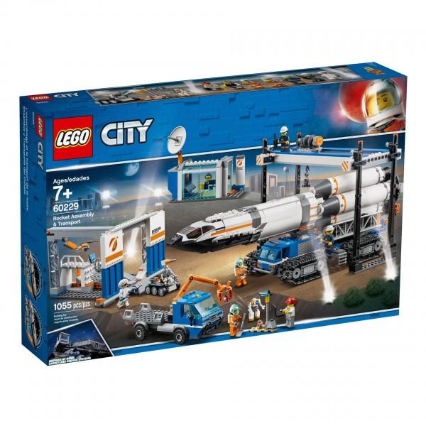 LEGO® CITY 60229 Raketenmontage & Transport