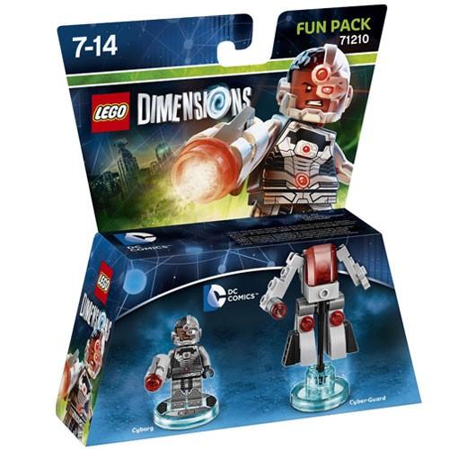 LEGO® Dimensions 71210 Fun Pack DC Cyborg