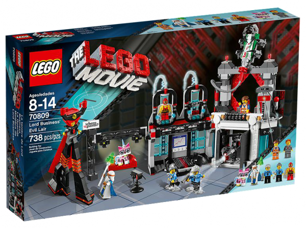 LEGO® Movie 70809 Lord Business Hauptzentrale