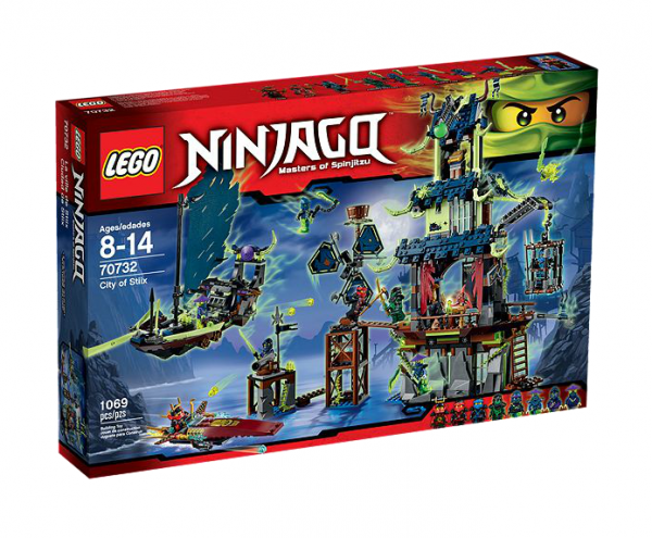 LEGO® Ninjago 70732 Die Stadt Stiix