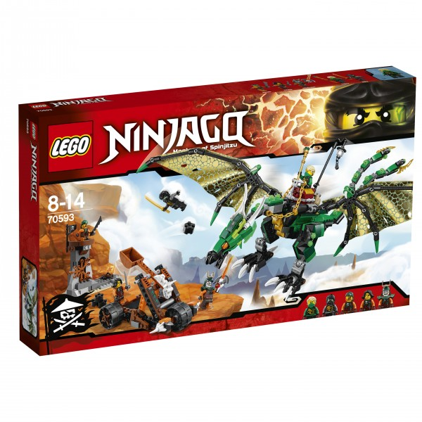 LEGO® Ninjago 70593 Der Grüne Energie-Drache