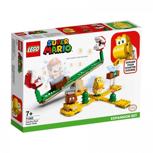 LEGO® Super Mario™ 71365 Piranha-Pflanze-Powerwippe - Erweiterungsset