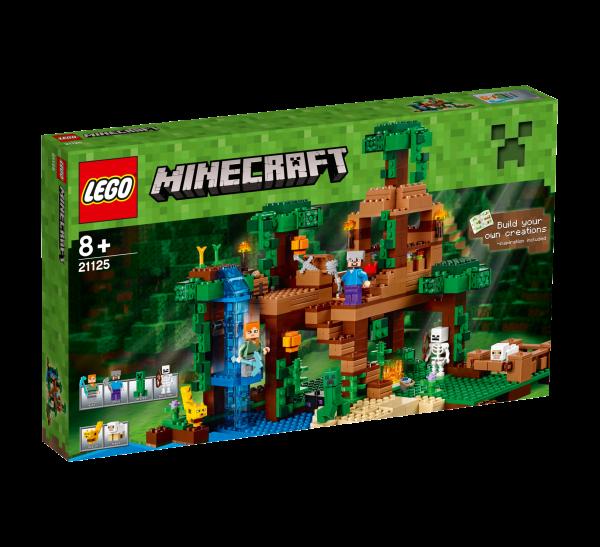 LEGO® Minecraft 21125 Das Dschungel-Baumhaus