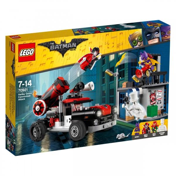 The LEGO® Batman Movie 70921 Harley Quinn Kanonenkugelattacke