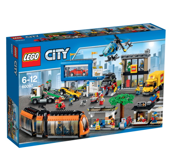 LEGO® CITY 60097 Stadtzentrum