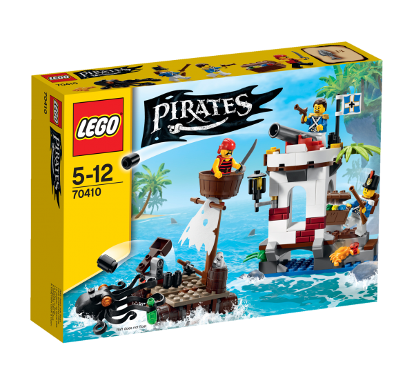 LEGO® Pirates 70410 Soldaten-Wachposten mit Piratenfloß