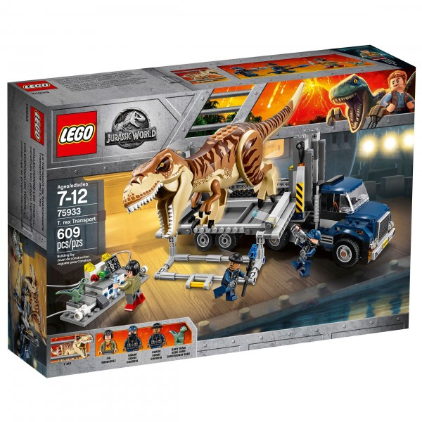 LEGO® Jurassic World 75933 T-Rex Transport