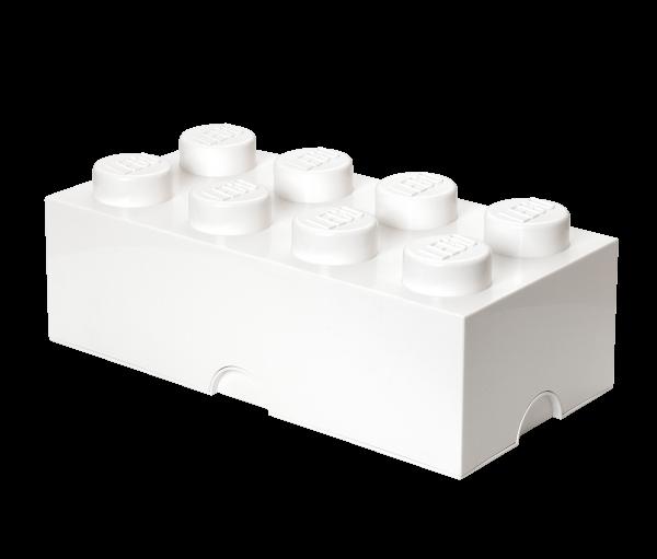 LEGO® Storage Brick 8 weiss